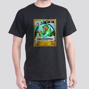 Czech Beer Label 2 Dark T-Shirt